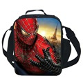 Spider-Man Lunch Bag For Kids School Boys Girls Thermal Lunch Bags For Kids Children Gifts-Various