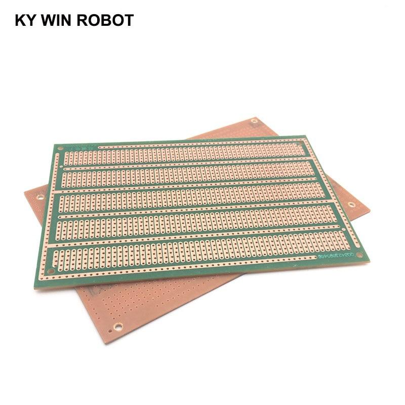 1pcs DIY 10*15CM PF Single Side Prototype Paper PCB Universal Experiment Matrix Circuit Board Five Holes 10x15CM For Arduino