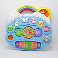 New Lovely Safe Plastic Educational Key Type 8 Scales Piano like Electric Musical Instrument with Different Buttons Baby Toy