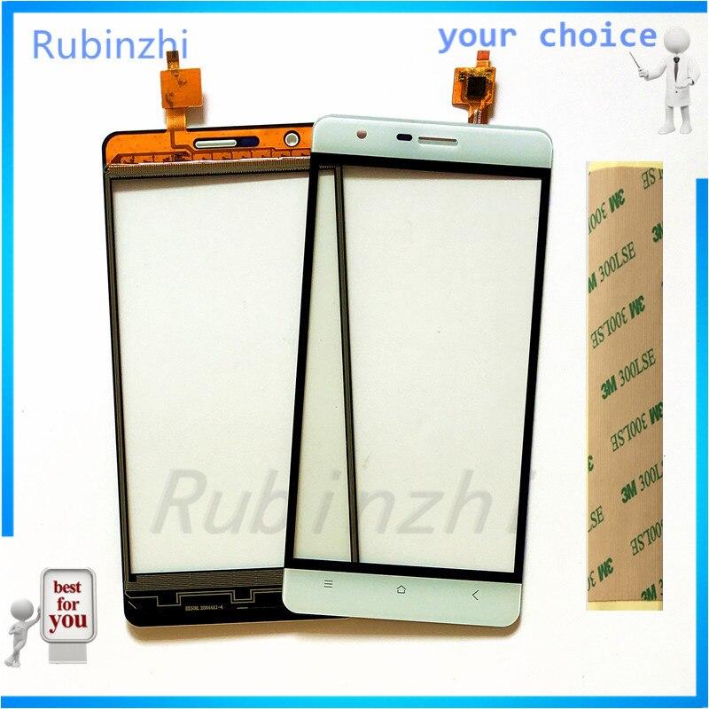 RUBINZHI Moible Téléphone Écran Tactile Capteur Pour Oukitel k4000/k4000 lite Écran Tactile Panneau De Réparation Pièces De Rechange + 3 M bande