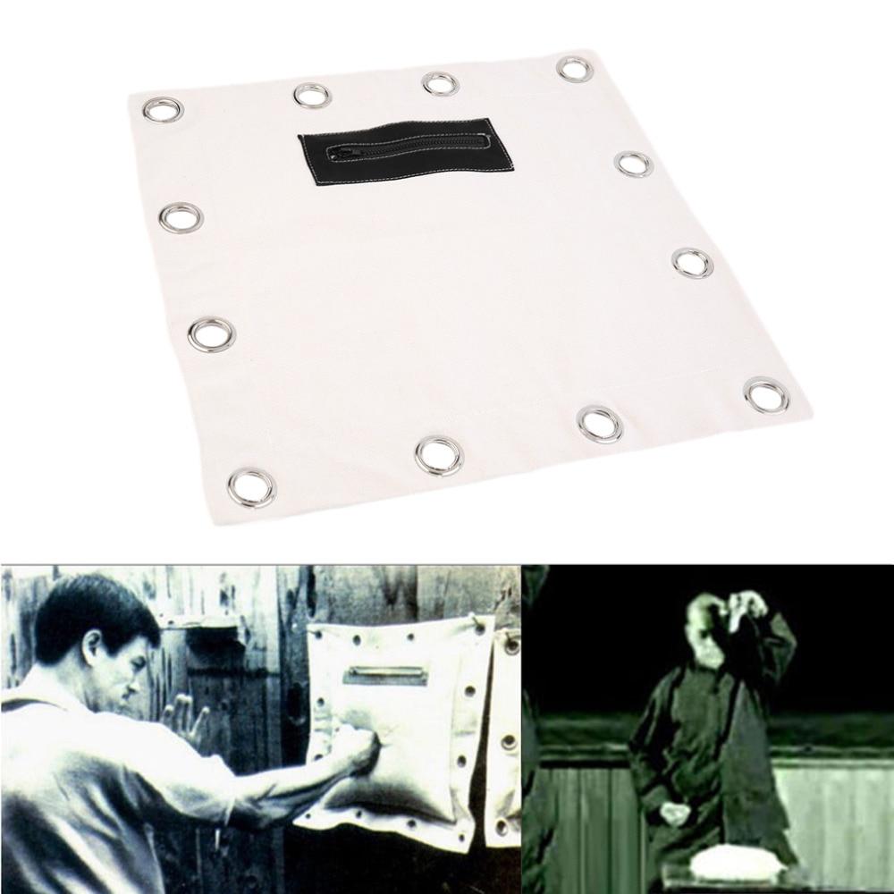 39cm x 39cm Bruce Lee Boxing Wall Punch Bag Sanshou fighting pad sandbag Punch wall target Muaythai Drop Shipping