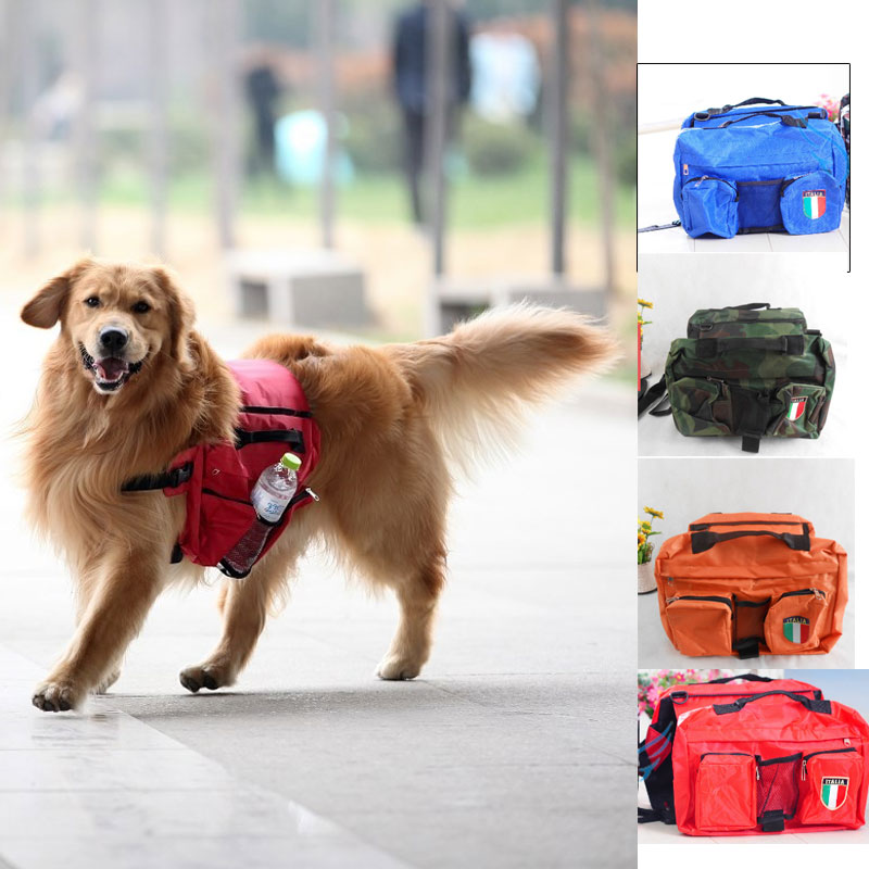 Aliexpress.com : Buy new Pets dog medium large dogs Backpack snack ...