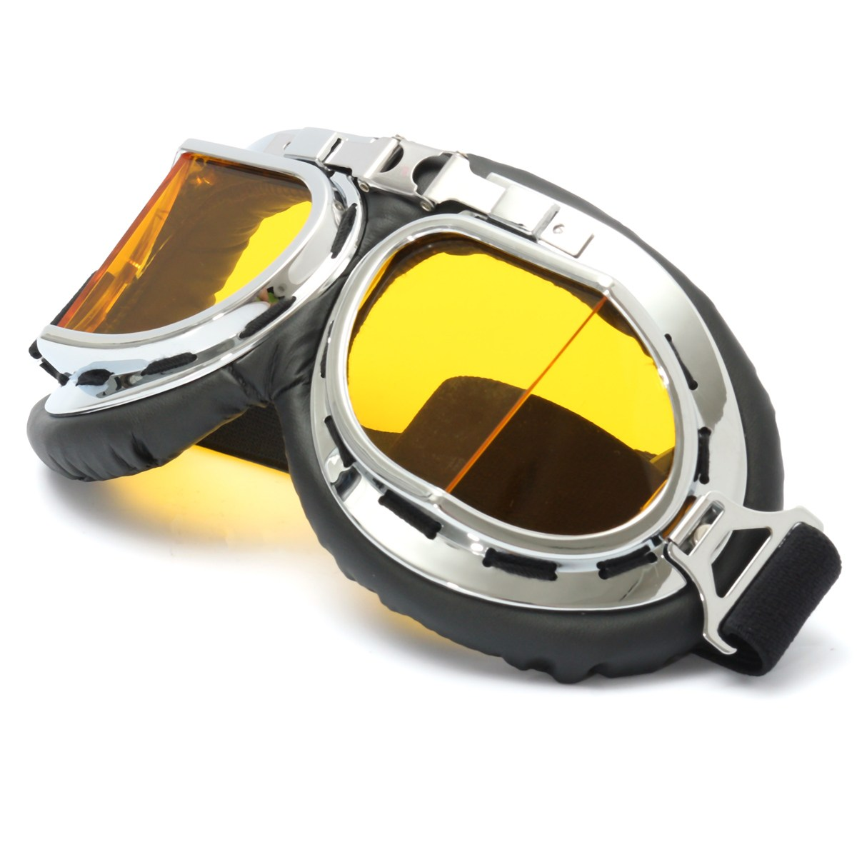 NEW Scooter Goggle Glasses Pilot Motorcycle Ski Goggle Smoke Lens  Workplace Safety Eye Protection