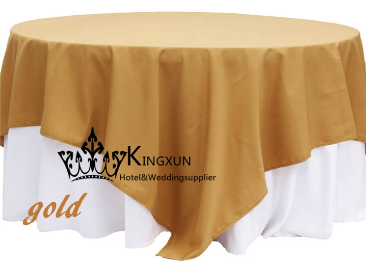 Gold Color 100% Polyester Table Overlay For Table Cloth In Tablecloths From  Home U0026 Garden On Aliexpress.com | Alibaba Group