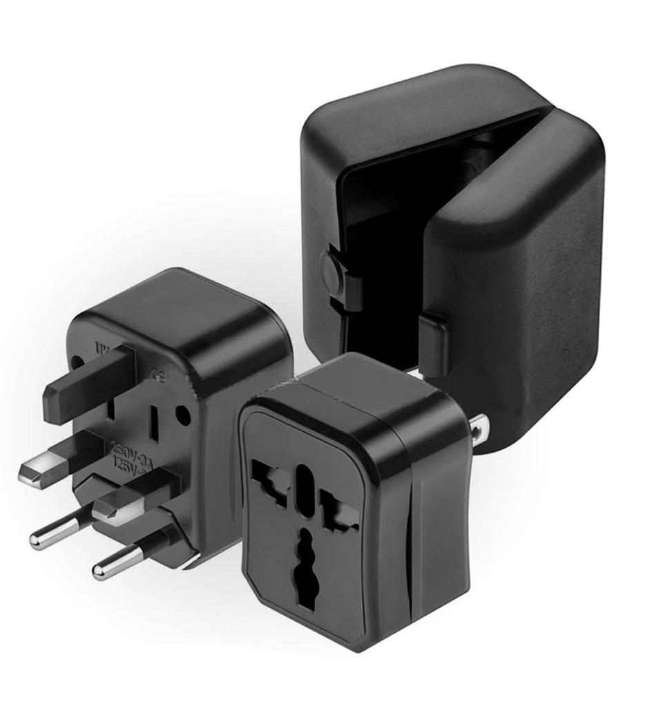 Three-in-one Global Travel Conversion 3 Sockets Plugs Universal Adapter Travel Abroad Converter Household Plugs USAUEUUK (15)