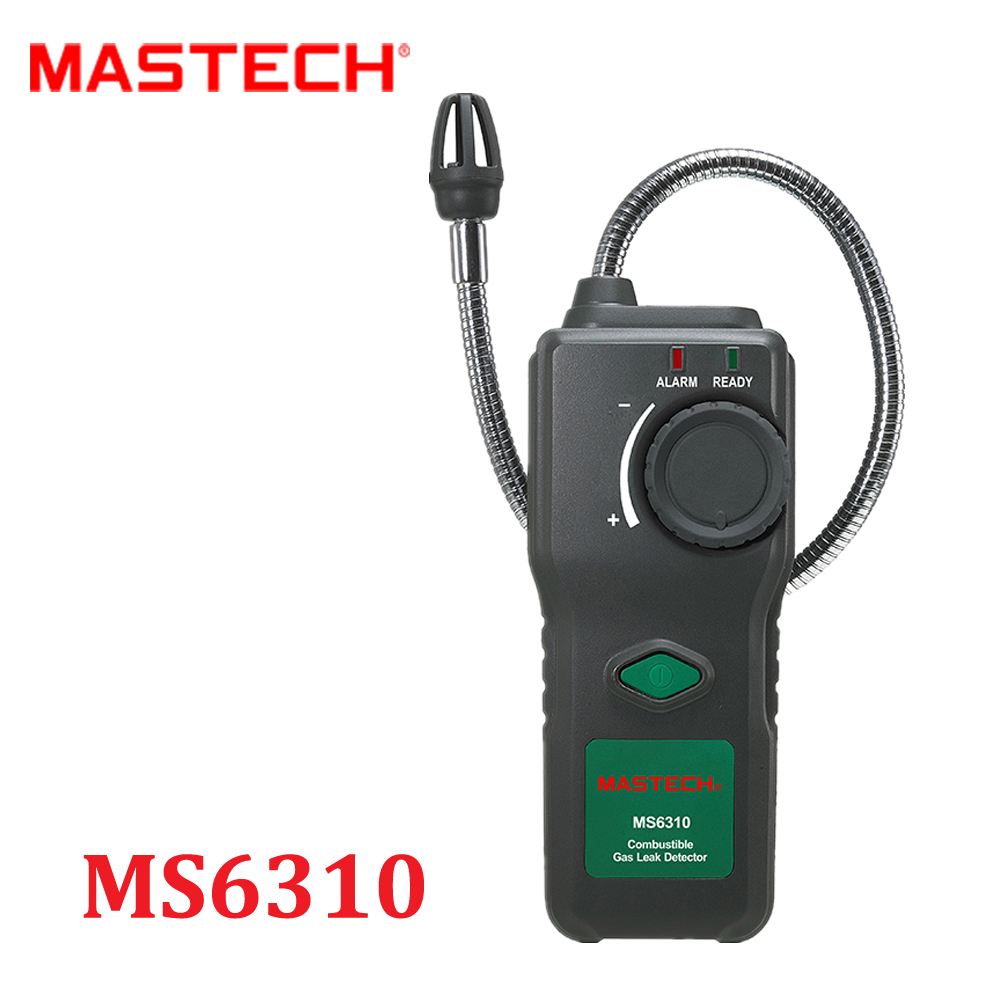 MASTECH MS6310 Portable Combustible Gas Leak Detector Natural Gas Propane Gas Analyzer With Sound Light Alarm  Environment Meter  цены