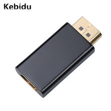 Kebidu Mini DP a HDMI convertidor adaptador conector a 1080 P al por mayor para NVIDIA AMD HBTV PC portátil Monitor(China)