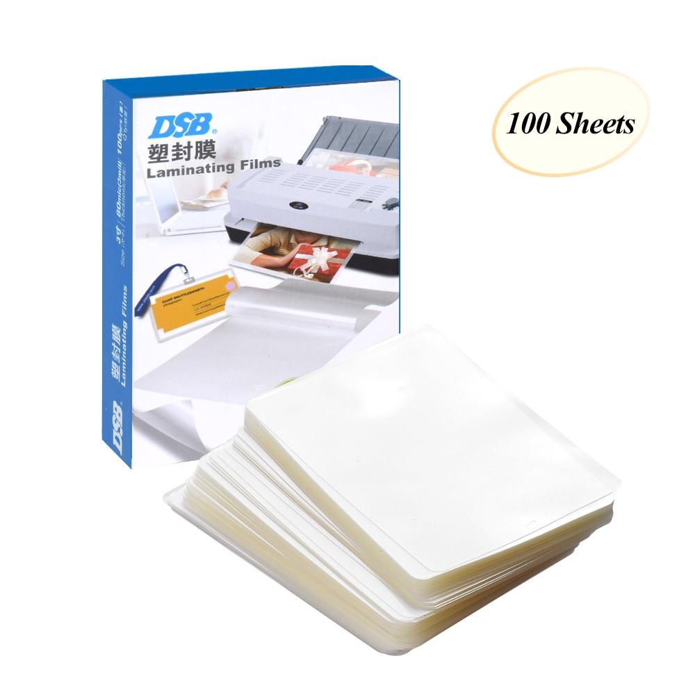 Laminating-Film Card Photo-Paper Clear-Sheet For 80mic 3-Eva-Bond