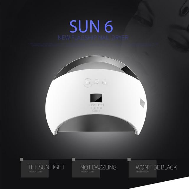 Sunuv SUN6 48W Nail Machine UV Led Lamp manicure Nail Dryer Lamp for ...