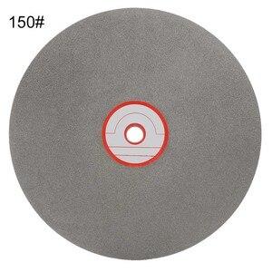 1 pçs 8 Polegada 150 roda de moagem disco de corte diamante polimento rodas revestido disco colo plana ferramentas lapidação discos diamante
