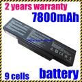 Jigu nueva batería del ordenador portátil para asus n73v x77 x77j x77v k73j K73S N71 N71J N71V N71YI N73 N73F N73G N73J N73Q N73S