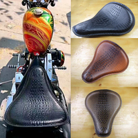 For Harley seat Cafe Racer cushion Motorcycle BOB waterproof Seat Cushions