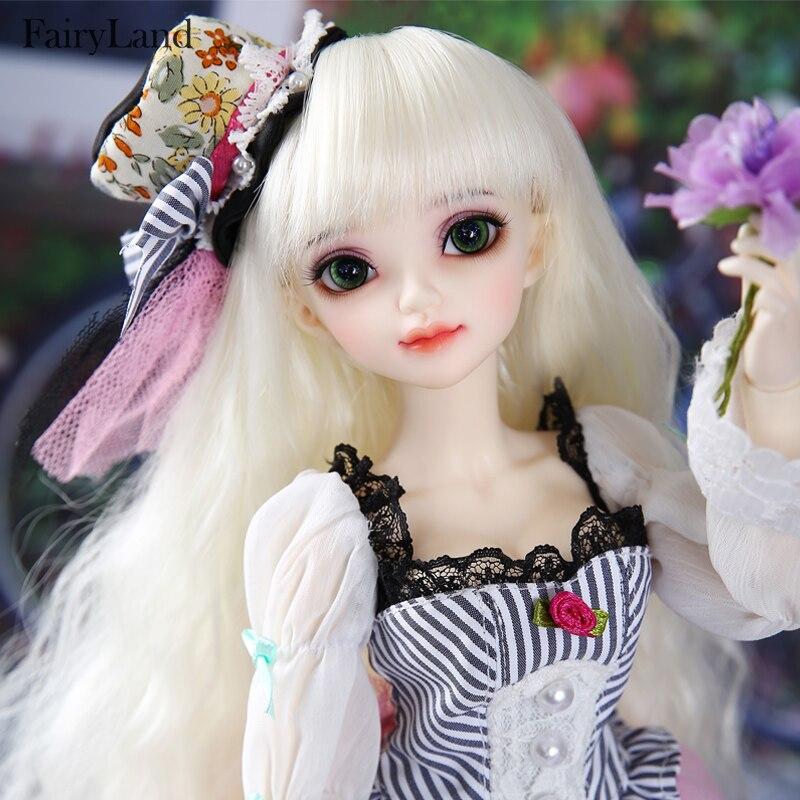 Pop Bjd Sarang Minifee 1/4 Fs Fullset Optie Sunshine Meisje Dikke Lippen Liefde Smile Pretty Speelgoed Voor Meisjes Fairyland Mnf