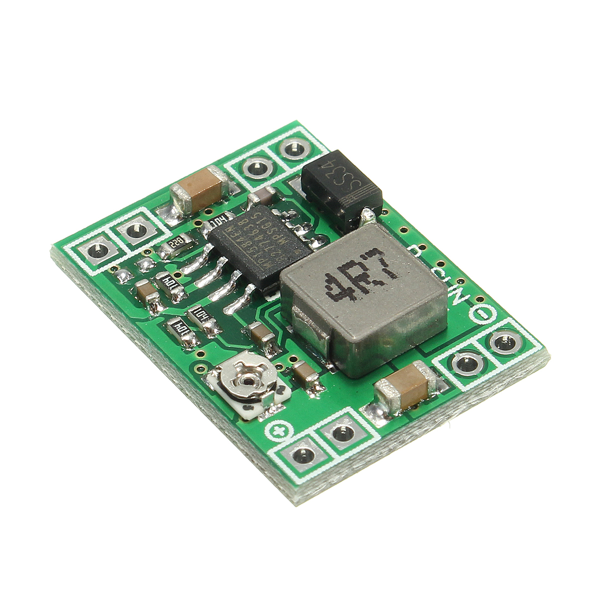10pcs 3A Step-down Module Mini MP1584EN DC-DC BUCK Adjustable Step Down Module 4.5V-28V Input 0.8V-20V Output