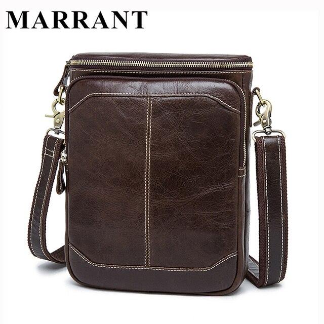 MARRANT Горячая распродажа мужчины сумка мужчины кроссбоди мужская сумка 100% подлинные кожаные сумки новых бесплатная доставка Мужские из натуральной кожи сумка мешки посыльного сумки через плечо сумка мужская 8003