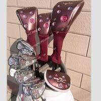 New womens Golf clubs Maruman FL Golf complete set of clubs driver+fairway wood+irons+putter Graphite Golf shaft No ball packs