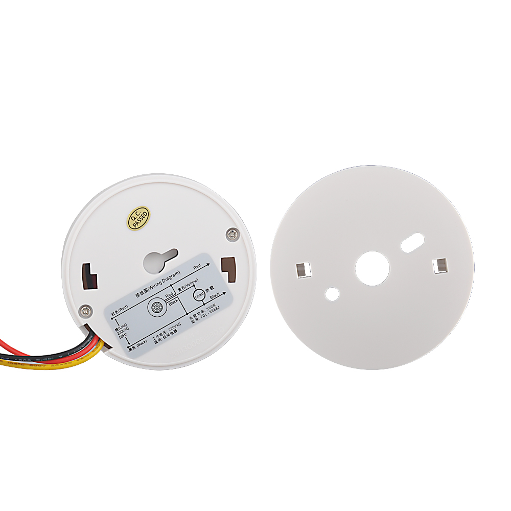 Auto High Quality 12v 110v 220v Ceiling Motion Sensor Switch 360 Wire Diagram 12 Volt 2 Degree Pir Infrared Light 2pcs In Switches From Lights Lighting On