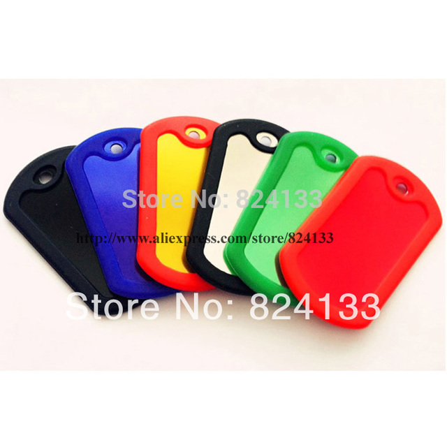 Cheap Wholesale Blank Military Dog Tags Silencerdog Tags For Men