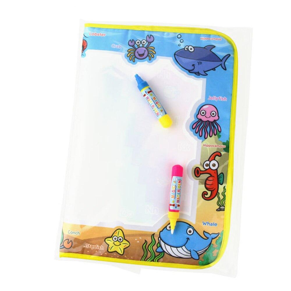 Child Magic Water Drawing Book 1 Water Drawing Mat 2 Magic Water