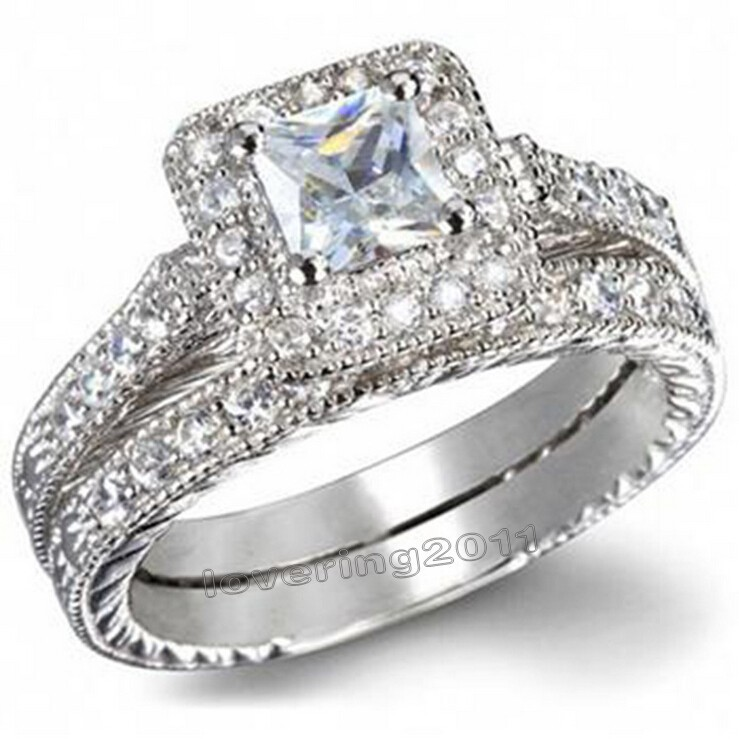 Online Buy Wholesale White Gold Antique Engagement Ring Settings