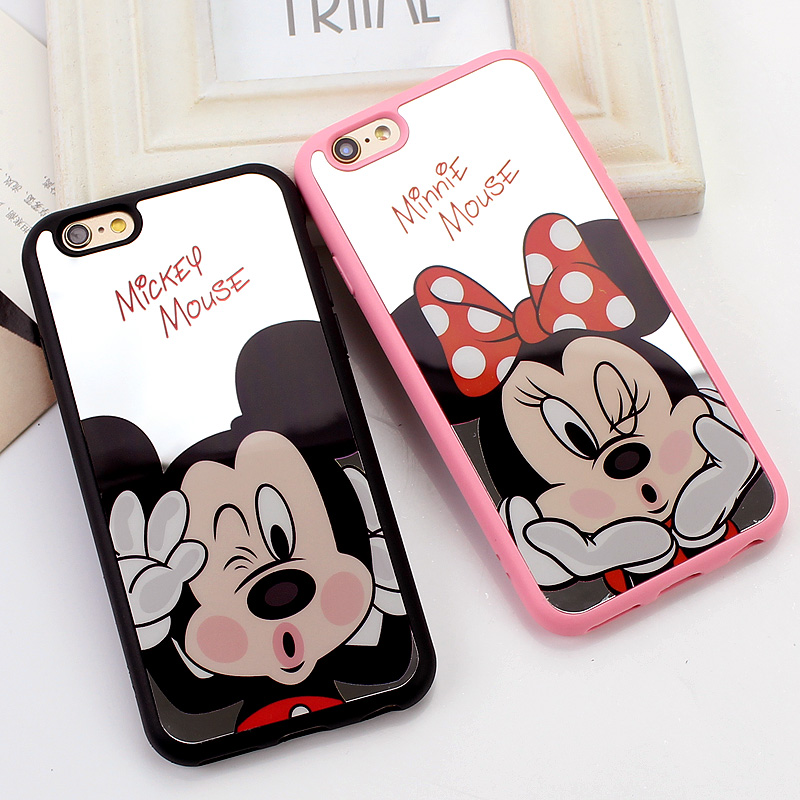 iphone 8 mickey and minnie case case