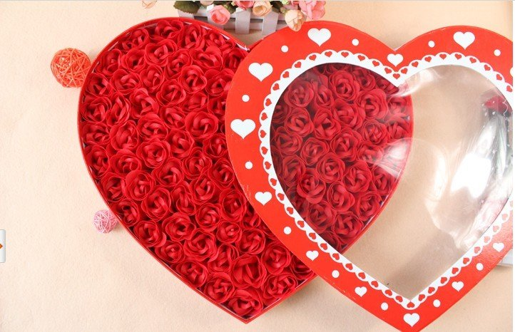 100soap flower roses wedding send girlfriend july 7th valentine's, Ideas
