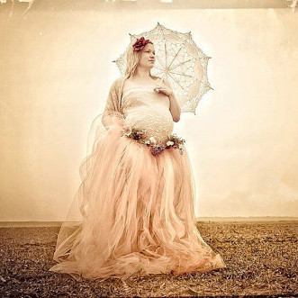8508034698c RQ Maternity Tutu Skirt maternity photography props maternity ball gown  dress pregnant photography ball gown dress Q105-in Skirts from Mother    Kids on ...