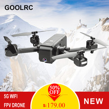 SJ Z5 Drone 1080P Drone with Camera GPS Return 5G Wifi FPV Altitude Hold Follow Me RC Quadcopter Brushless Motor F11 vs E58 X12(China)