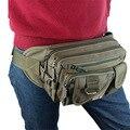 613 Новая мода мужчины и женщины досуг холщовый мешок Нагрудный Карман сумки Холст Талии Сумка