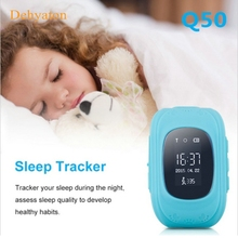 Dehyaton Q50 GPS Smart Kid Safe for smart Watch Wristwatch SOS Call Location Finder Locator Tracker for Child Anti Lost Monitor