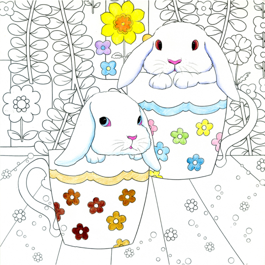 Aliexpress.com : Buy My Cute Pets Coloring Book for Adults ...
