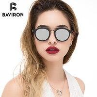 BAVIRON Similar Wooden Sunglasses Man Retro Sun Glasses Acetate Polarized Glasses Pretty Cool Stylish 2018 Designer