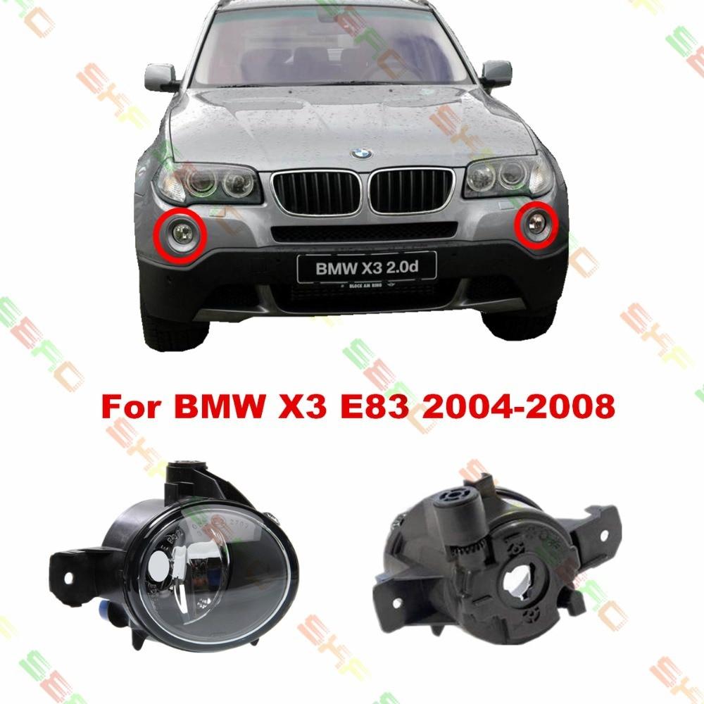 Для BMW Х3 Е83 2004/05/06/07/08 стайлинга автомобилей противотуманные фары 1 комплект противотуманных фар