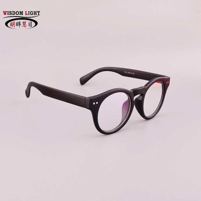 Exclusivo das mulheres dos homens da ordem do aluno Enchimento Prescrição óculos Contra azul lenes Óculos de Miopia produto acabado 2175