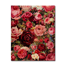 Frame Poster Wall Photo Art Watercolor Flower Digital Diy Painting By Numbers Decor On Canvas Oil Paint Coloring Unique Picture(China)