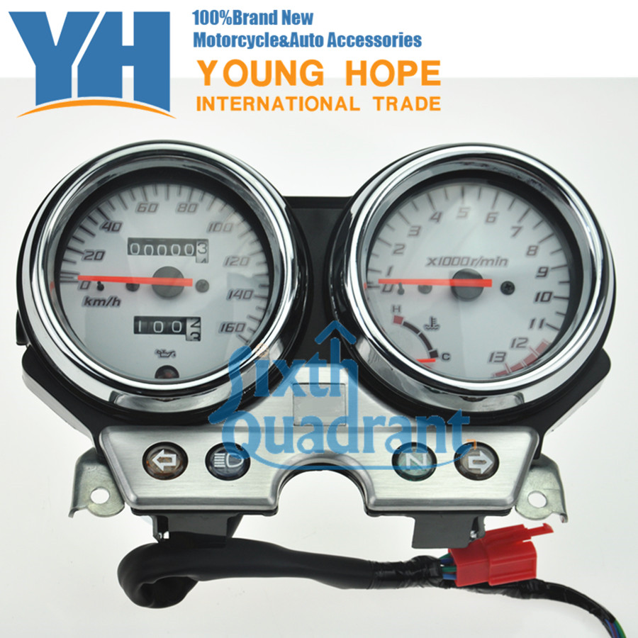 For Honda VTR250 2004 2005 2006 2007 VTR 250 04 05 06 07 NEW Free Shipping Speedometer Odometer Tachometer  Instrument Assembly aftermarket free shipping motorcycle parts eliminator tidy tail for 2006 2007 2008 fz6 fazer 2007 2008b lack