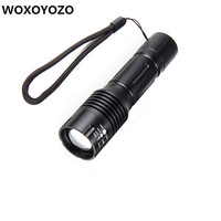 DZ10 Big Promotion Ultra Bright CREE XML T6 LED Flashlight 5 Modes 3800 Lumens Zoomable LED