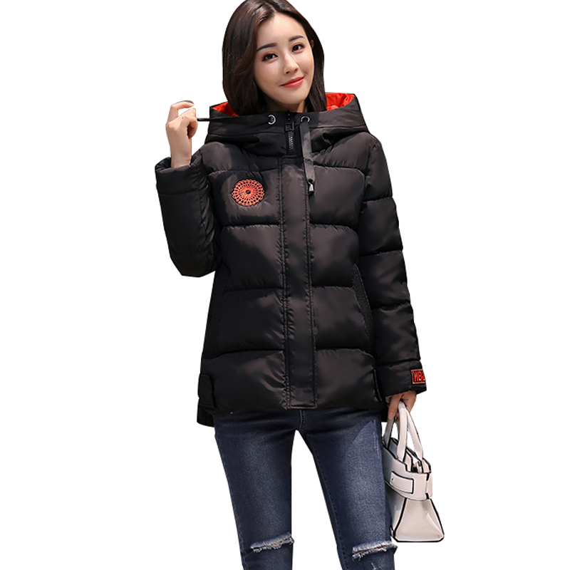 New Fashion Woman Winter Coats And Jacket high quality Cotton Padded Parkas Thick Hooded Jacket casaco jaqueta feminina Overcoat