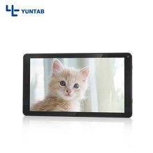 ¡ Venta caliente!! D102 Yuntab 10.1 pulgadas tablet PC Android 6.0 de Allwinner A33 quad core 1G + 8G con Pantalla Táctil 1024X600 de Resolución