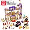 BELA 10547 Girls Friends Heartlake Grand Hotel Building Blocks Kid House Model DIY Bricks Toys Gift