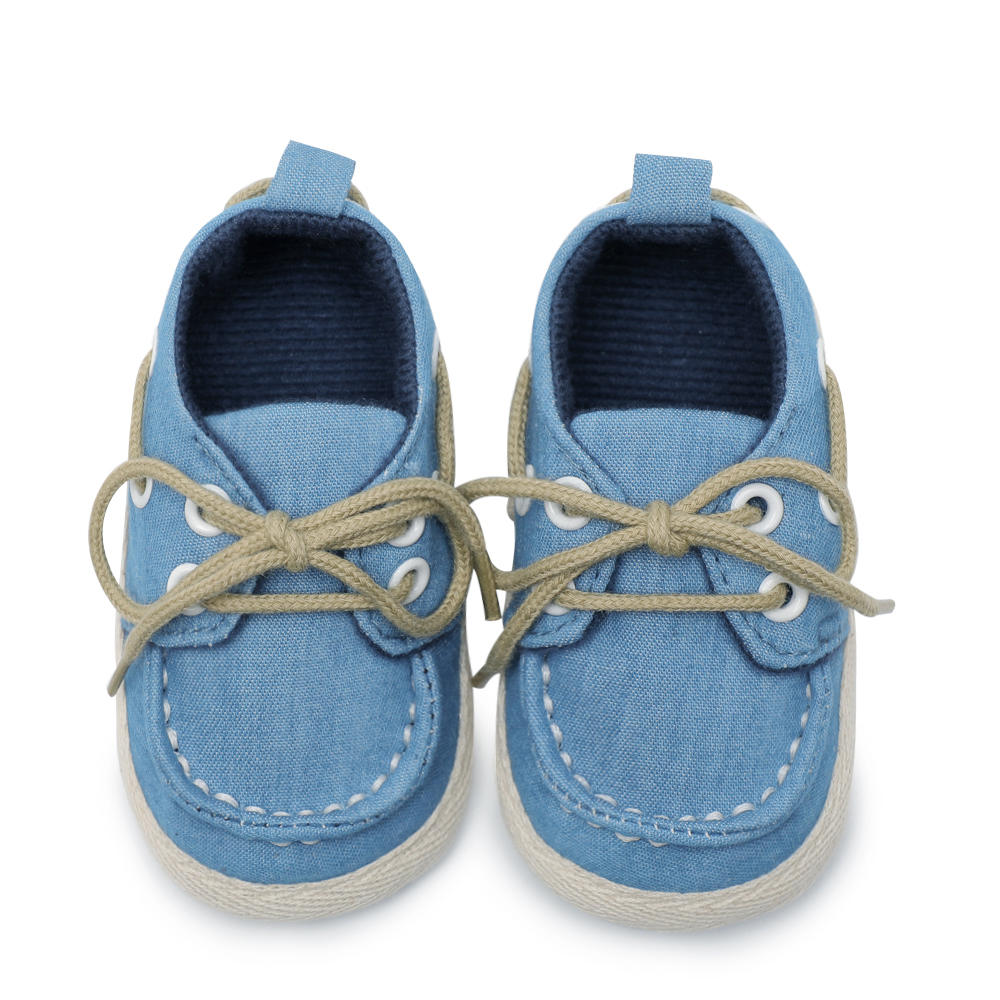 Logical Kids Infant Baby Boys Girls First Walkers Soft Soled Cotton Crib Shoes Laces Prewalkers New Arrival Baby Shoes