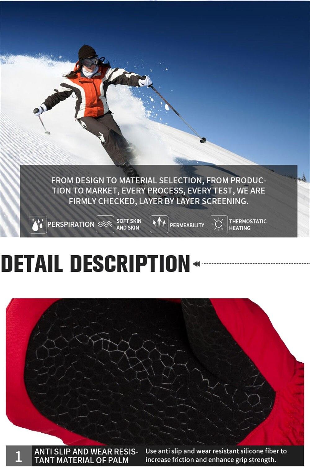 Completos Luvas Respirável de Skate e Snowboard