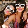 RSSELDN 2016 New Модельер Женщин Солнцезащитные Очки Ретро Классическая Мода Солнцезащитные Очки Большой Бренд высокого Качества Cat Eye Солнцезащитные Очки