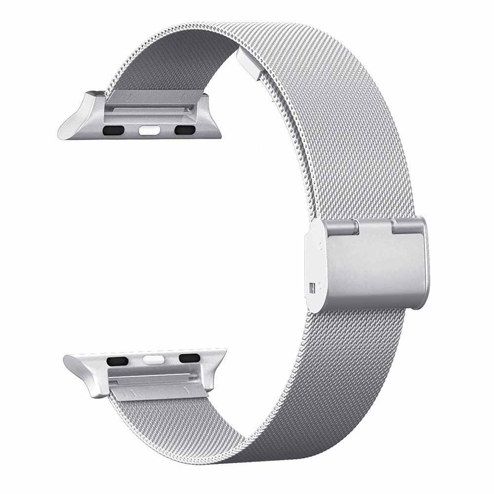 For Apple Watch Mesh  Magnetic Loop Stainless Steel Bracelet Strap Replacement Band Wristband for Apple Watch Series 3/2/1