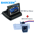 "Pelado de coche cámara impermeable IP 69 K + pantalla del monitor del coche 4.3 ""para Renault Fluence/Dacia Duster/Megane 3/para Nissan Terrano"