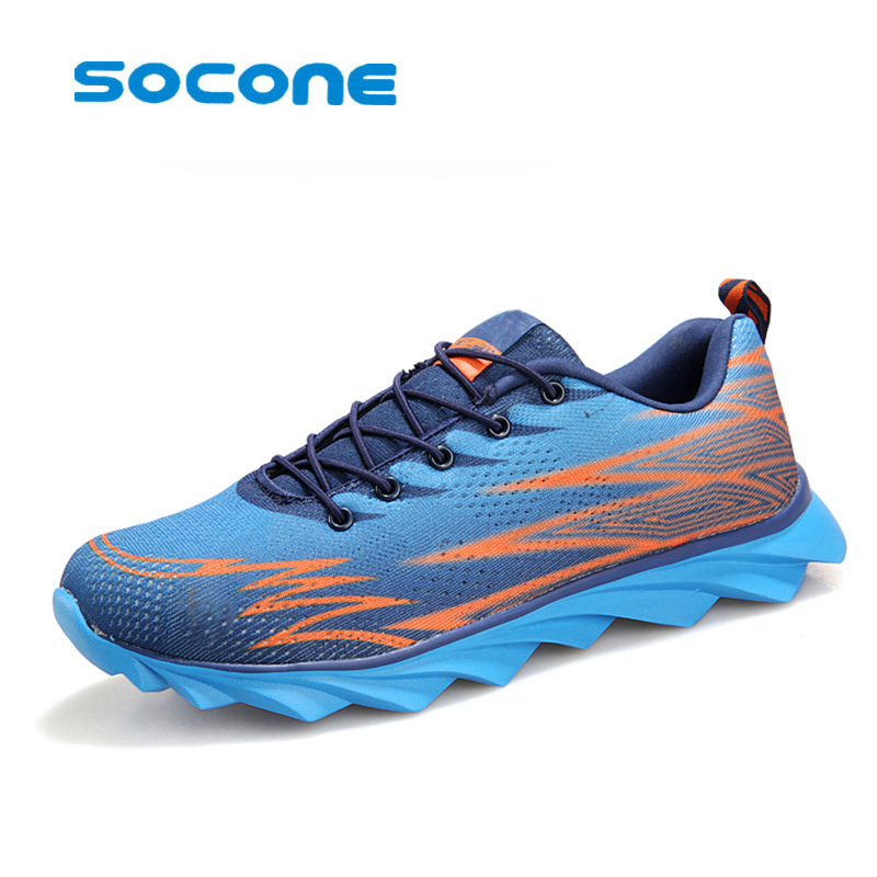 Lightweight breathable running shoes men and women sneakers Cushioning outdoor sport shoes Professional Training shoes mulinsen men s running shoes blue black red gray outdoor running sport shoes breathable non slip sport sneakers 270235