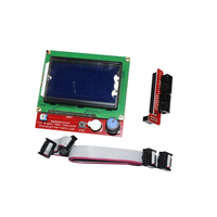 2019 New Full Graphic Smart Controller LCD Display for RAMPS 1.4 RepRap 3D Printer Electronics|3D Printer Parts & Accessories| |  -