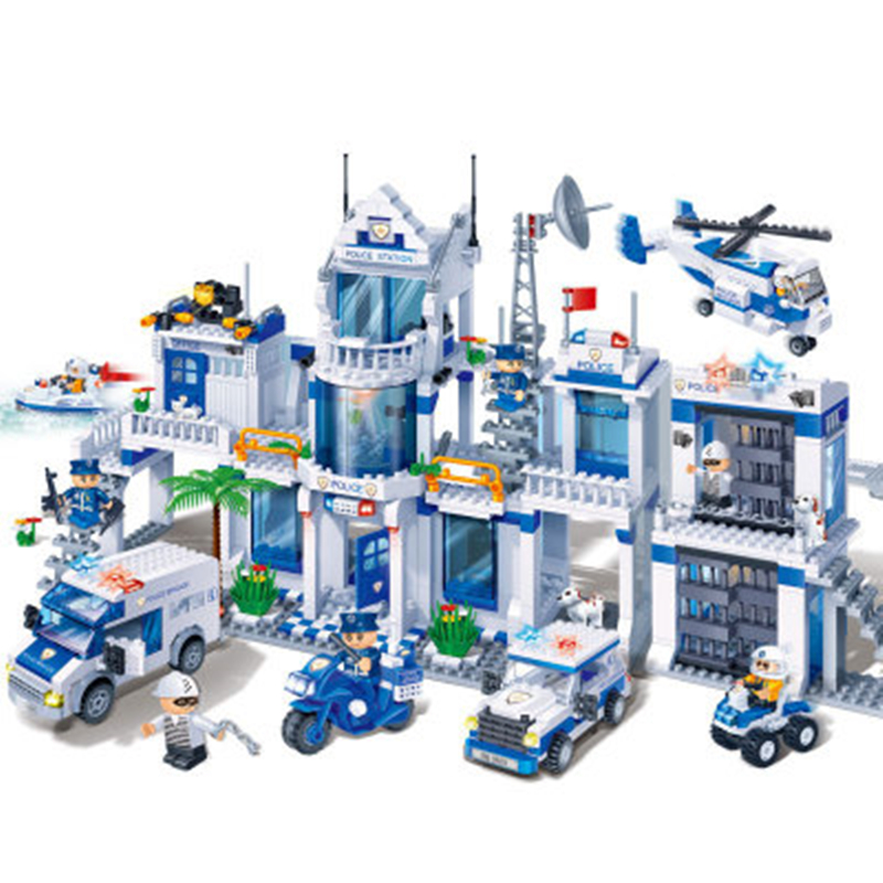 New Police Administration Military Space Building Blocks Toys For Children Gifts Kids Toys Compatiable With LegoINGlys City toys in space