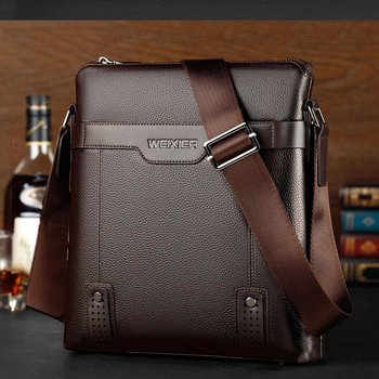 Casual Men Messenger Bags Crossbody Bags Men's Shoulder Bag Hot Selling High Quality pu business Briefcase 1