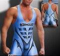 Sexy Comfy Men Sport GYM Singlet Unitard Lingerie Underwear Man Body Suit Bodysuit Wrestling Leotard Board Beach Surf Swim Wear
